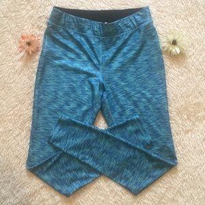 Like New Mossimo M blue workout leggings